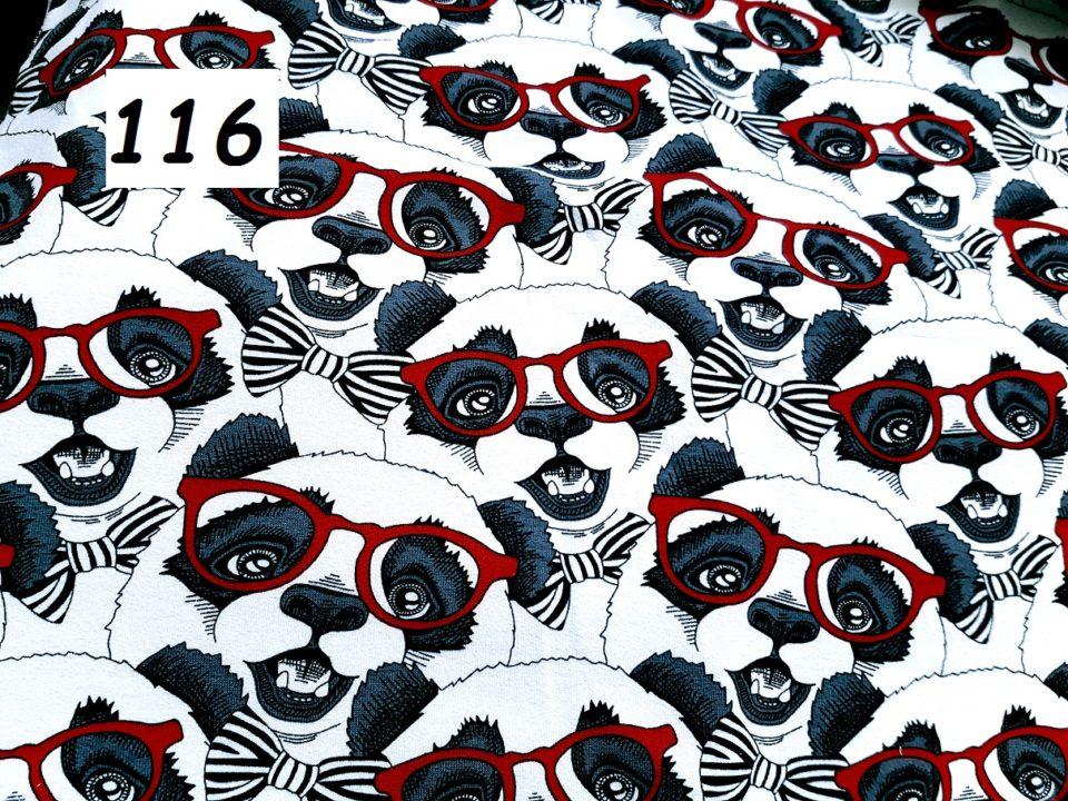 116 - panda s brýlemi