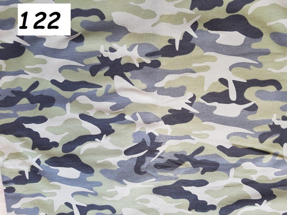 122 - maskac šedý