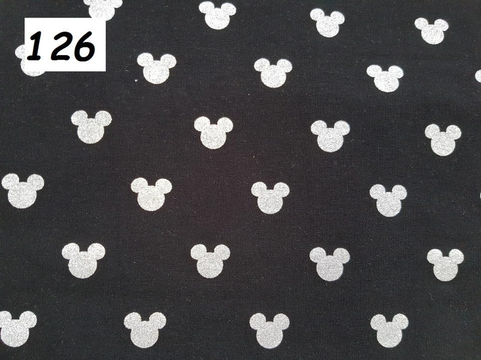 126 - mickey černá