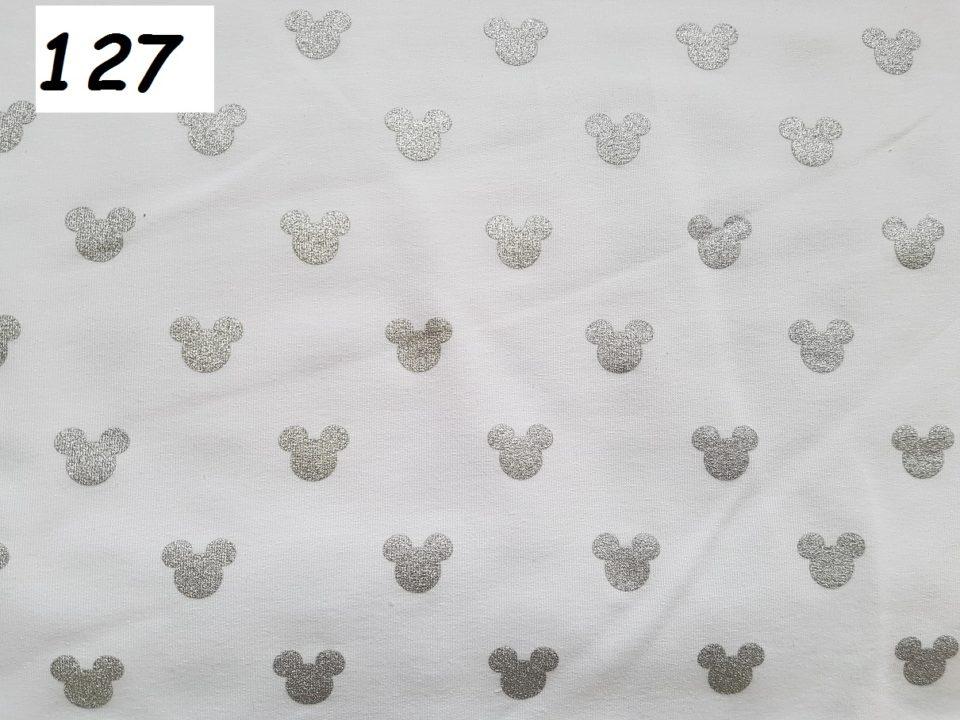 127 - mickey bílá