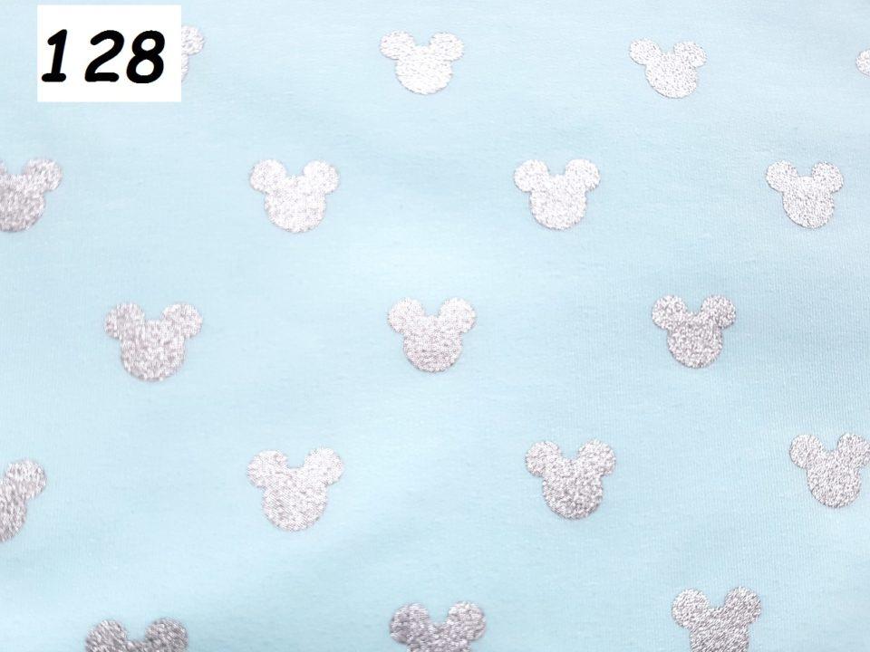 128 - mickey modrá