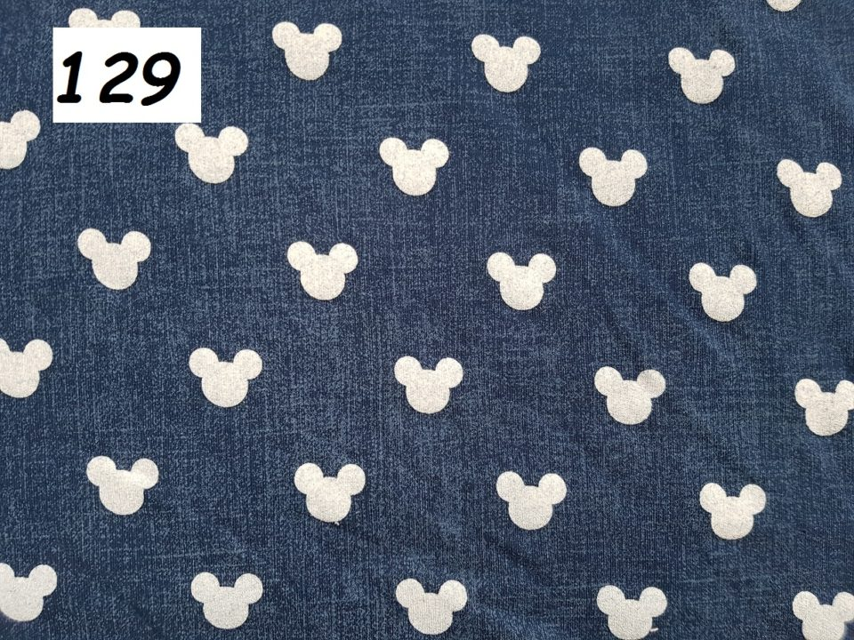 129 -mickey jeans