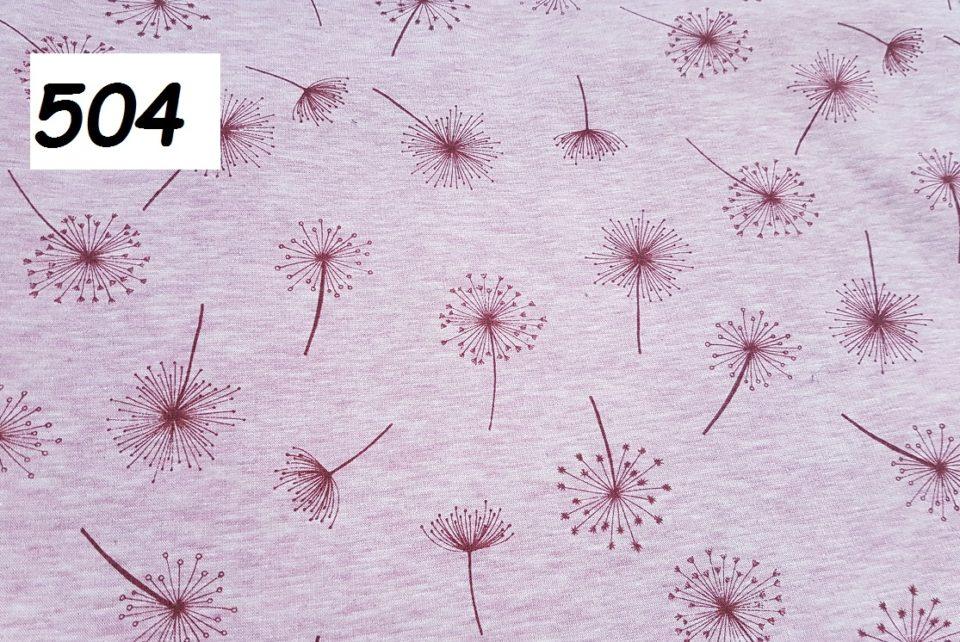 504 - pampelišky na růžové