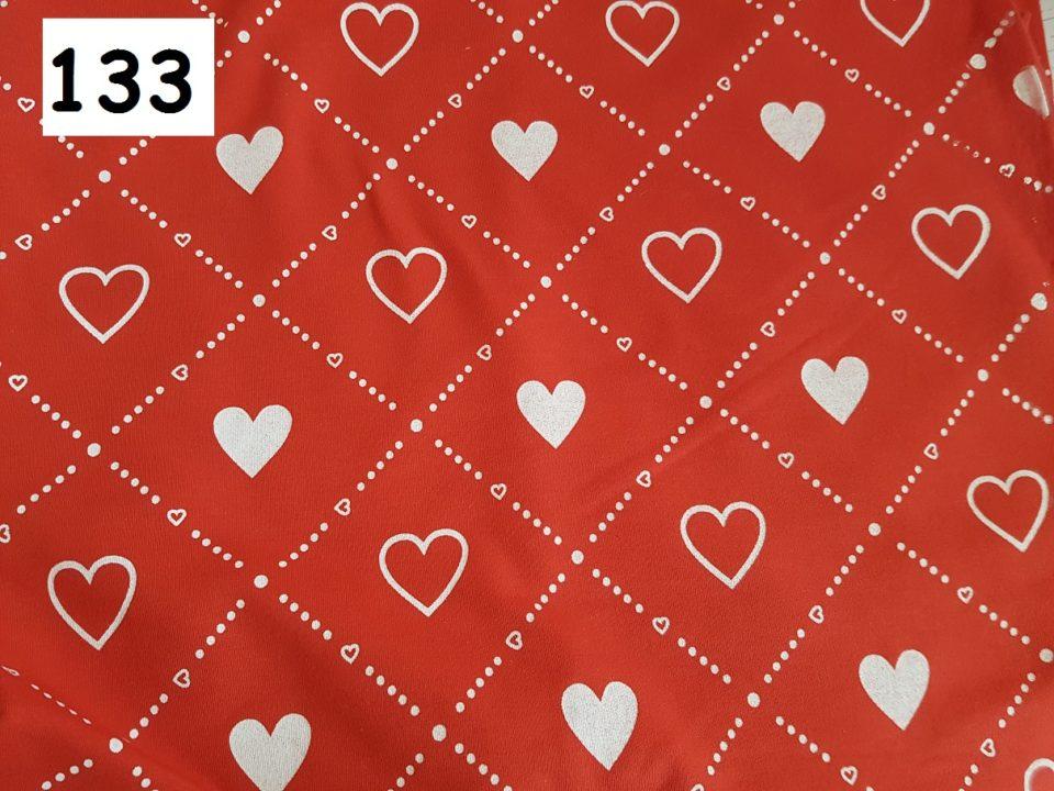 133 - srdce na červené