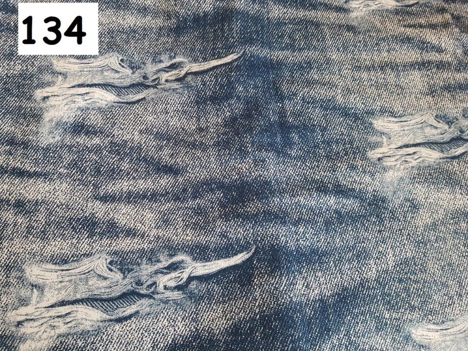134 - trhaná jeans