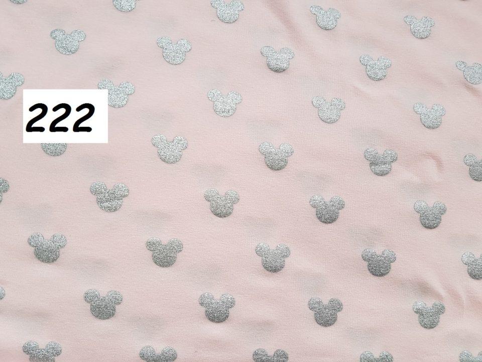 222 - mickey na růžové