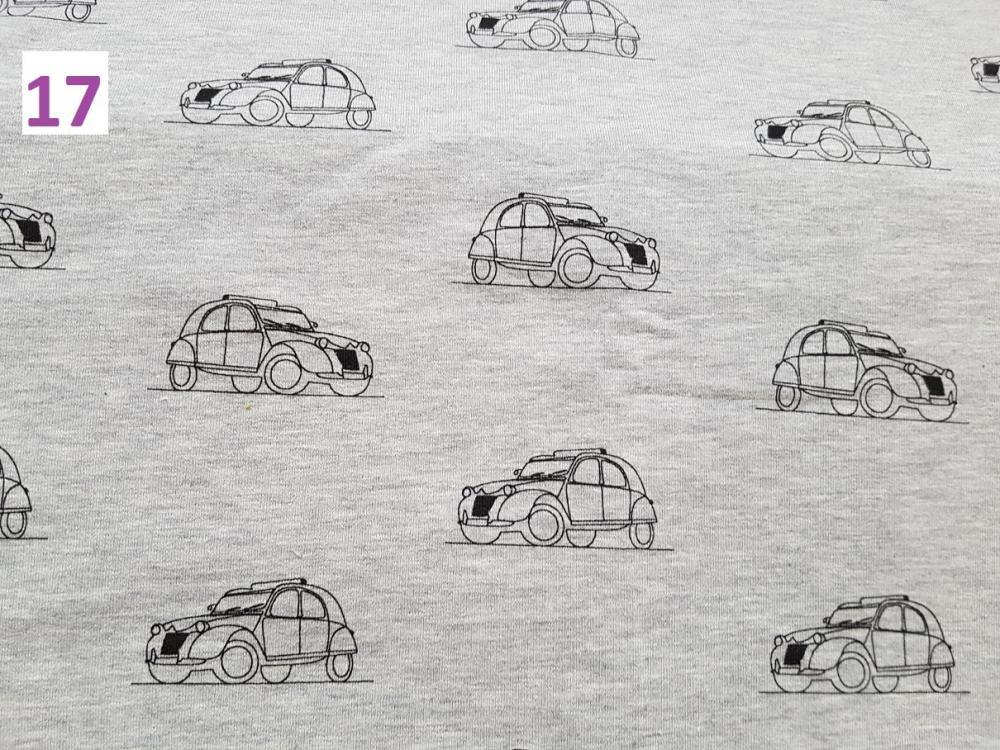 17 - auta na šedé